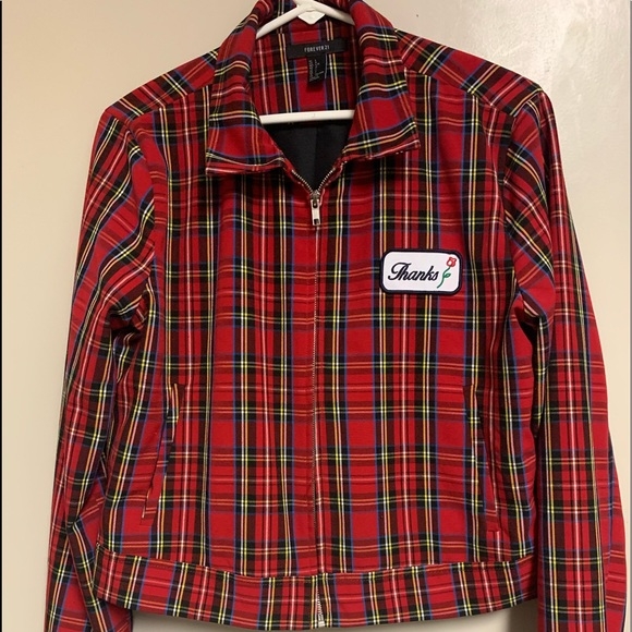 Forever 21 Jackets & Blazers - Forever 21 Plaid Jacket